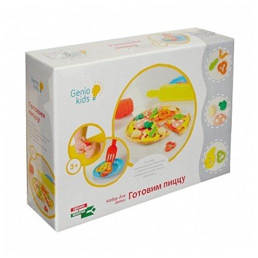 Масса для лепки Genio Kids Готовим Пиццу (TA1036)