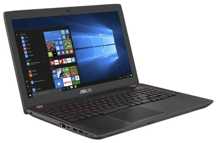 Ноутбук ASUS FX553VE (Intel Core i5 7300HQ 2500 MHz/15.6