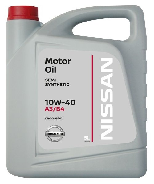 Масло моторное полусинтетическое 5л - 10w40 motor oil value advantage Nissan KE90099942VA