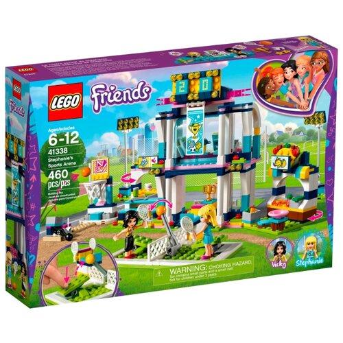 Конструктор LEGO Friends 41338 Спортивная арена Стефани конструктор lego friends игровая шкатулка стефани