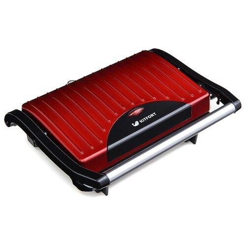 Сэндвичница Kitfort КТ-1609 Panini Maker красныйСэндвичницы и приборы для выпечки<br>