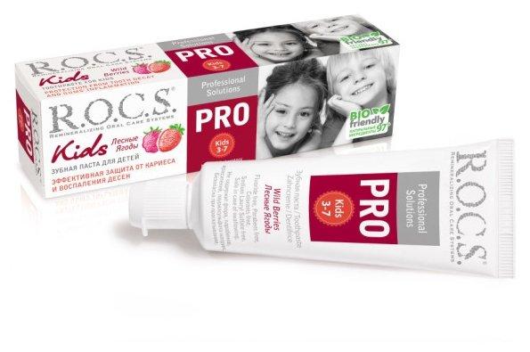 R.O.C.S. Зубная паста PRO KIDS 3-7 лет