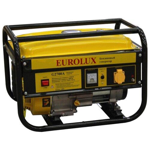 Бензиновый генератор Eurolux G2700A (2000 Вт) eurolux аполлония 180х90 с ножками