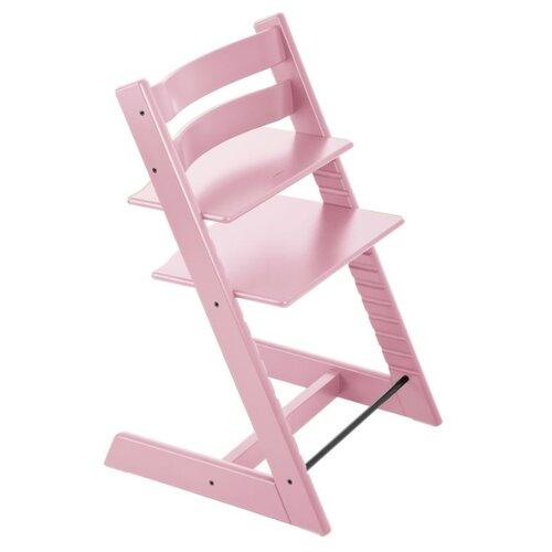 Растущий стульчик Stokke Tripp Trapp из бука, нежно-розовый, Стульчики для кормления  - купить со скидкой