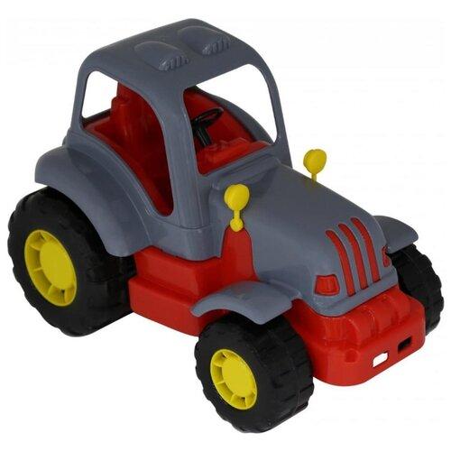 Трактор Полесье Силач (44945) 28 см полесье трактор крепыш
