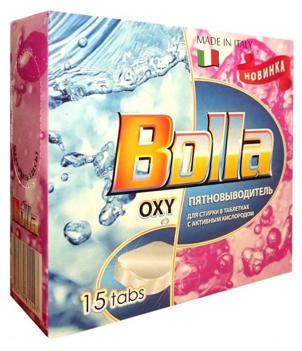 BOLLA OXY пятновыводитель универсальный в таблетках