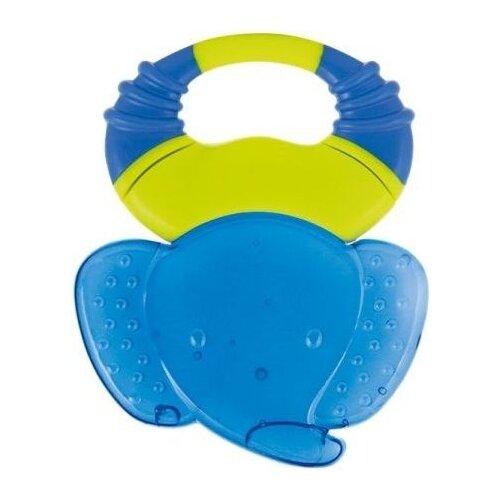 Прорезыватель Canpol Babies Сафари 56/140 голубой слоникПогремушки и прорезыватели<br>