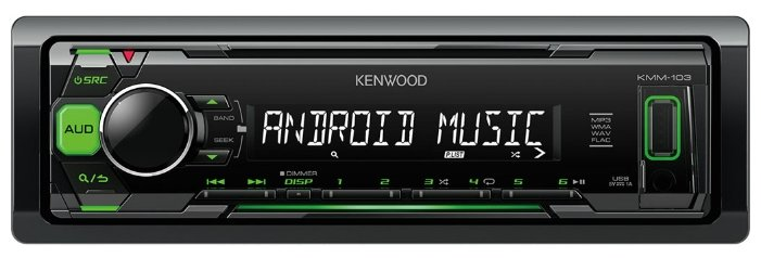 Автомагнитола KENWOOD KMM-103GY