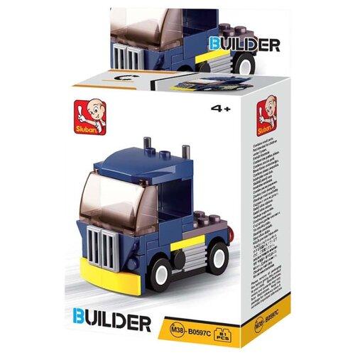 Купить Конструктор SLUBAN Builder M38-B0597C Грузовичок, Конструкторы