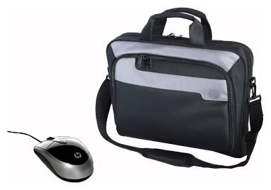 Сумка HP Deluxe Carrying Case and Mobile Mouse Bundle 16
