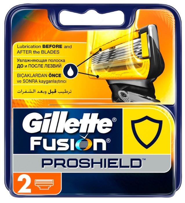 Сменные кассеты Gillette Fusion5 ProShield