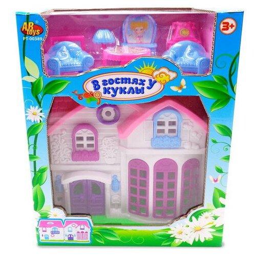 Купить ABtoys кукольный домик В гостях у куклы PT-00389, Кукольные домики