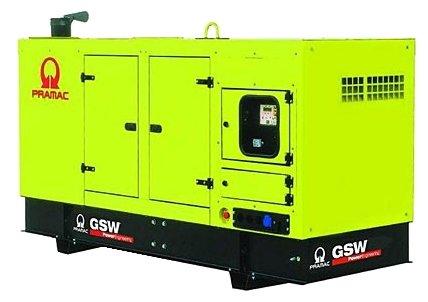 Дизельная электростанция Pramac GSW 10 Y 400V в кожухе с АВР