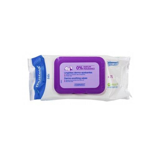 Влажные салфетки Mustela Для мягкого очищения без запаха 70 шт.