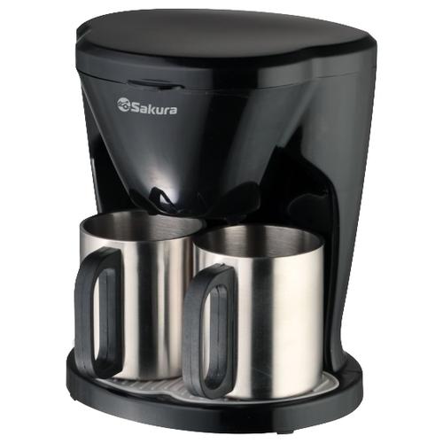 Кофеварка Sakura SA-6108BK черный