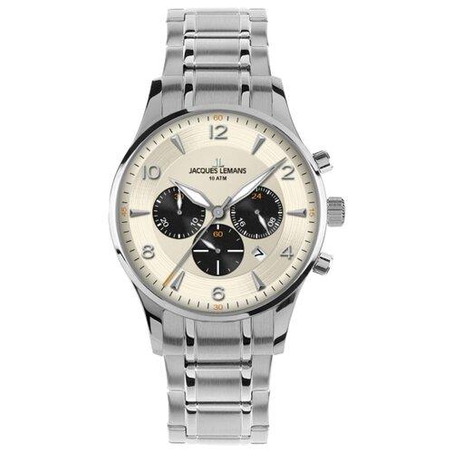 цена Наручные часы JACQUES LEMANS 1-1654M онлайн в 2017 году