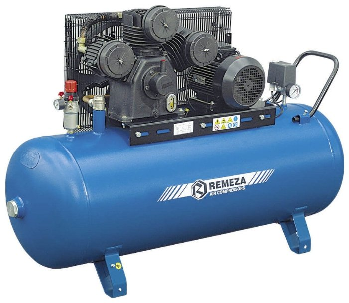 Компрессор масляный Remeza СБ4/C-100.W80, 100 л, 4 кВт — купить по выгодной цене на Яндекс.Маркете