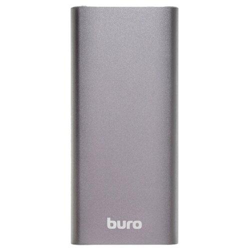 Аккумулятор Buro RB-10000-QC3.0-I&O серебристыйУниверсальные внешние аккумуляторы<br>