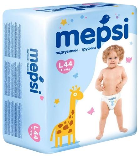 Купить Mepsi трусики L (9-16 кг) 44 шт. по выгодной цене на Яндекс ... 2f7518aff63