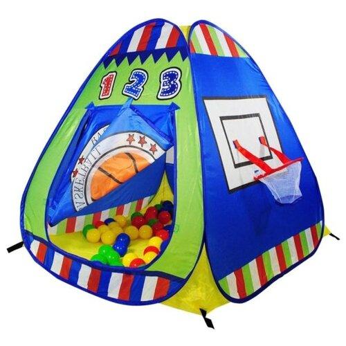 Купить Палатка Calida Баскетбол 694 синий/зеленый/желтый, Игровые домики и палатки
