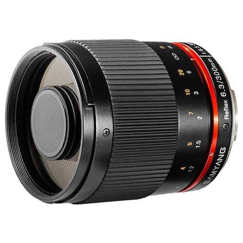 Фото - Объектив Samyang 300mm f/6.3 ED UMC CS Reflex Mirror Lens Sony NEX объектив samyang 85mm f 1 8 ed umc cs fujifilm x