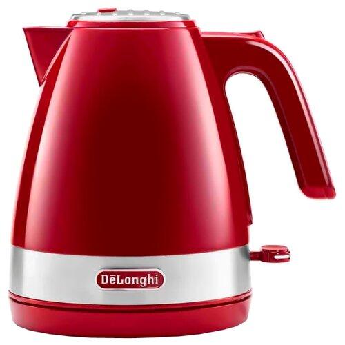 Чайник De'Longhi KBLA 2000, красный  - купить со скидкой