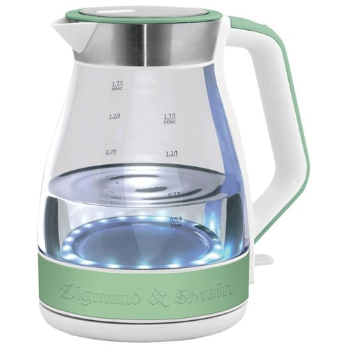 Чайник Zigmund & Shtain KE-822, зеленыйЭлектрочайники и термопоты<br>