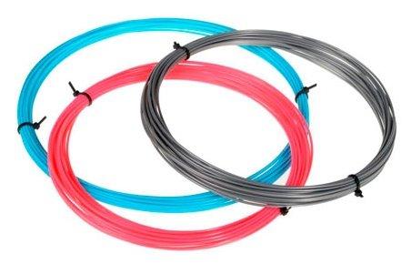 ABS пруток ESUN 1.75 мм 3 цвета (розовый, голубой, серебристый)