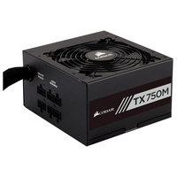 Блок питания Corsair TX750M 80 Plus Gold 750W