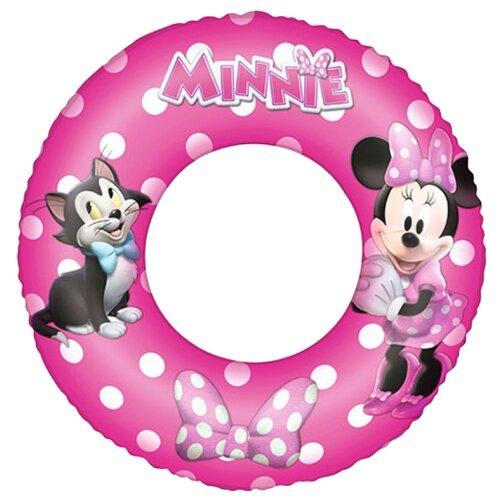 Купить Круг для плавания Bestway Минни 91040 BW розовый, Надувные игрушки
