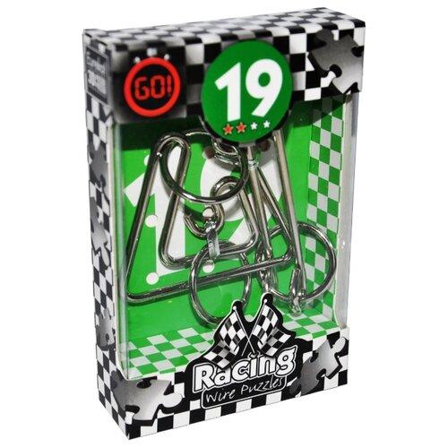 Купить Головоломка Eureka 3D Puzzle Racing Wire Puzzles 19 сложность 2 (473289/473319) серый, Головоломки