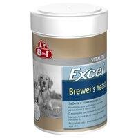 Кормовая добавка 8in1 Excel Brewer's Yeast Эксель Пивные дрожжи для собак и кошек (1430 таблеток)