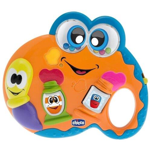 цена на Интерактивная развивающая игрушка Chicco Палитра оранжевый