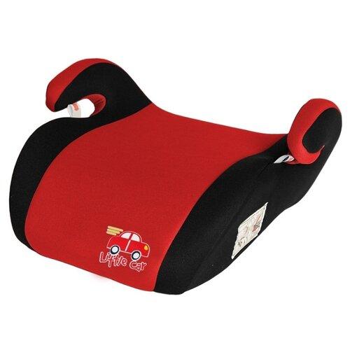 Бустер группа 2/3 (15-36 кг) Little Car Smart, красный автокресло группа 1 2 3 9 36 кг little car ally с перфорацией черный