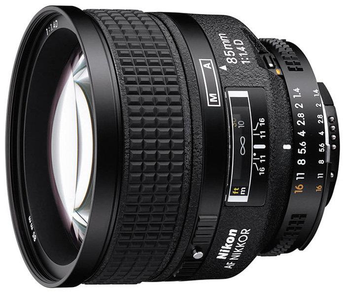 Объектив Nikon 85mm f/1.4D AF Nikkor