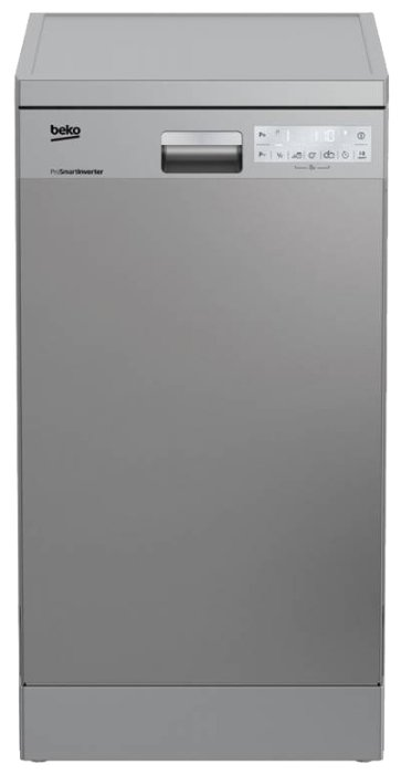 BEKO Посудомоечная машина Beko DFS 39020 X нержавеющая сталь (узкая)