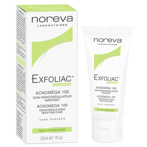 Noreva laboratories Exfoliac Крем Acnomega 100, 30 мл noreva laboratories bb крем для проблемной кожи exfoliac 30 мл оттенок light