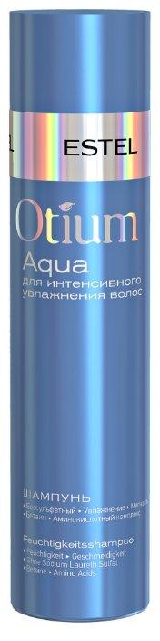 ESTEL шампунь Otium Aqua для интенсивного увлажнения волос — купить и выбрать из более, чем 77 предложений по выгодной цене на Яндекс.Маркете