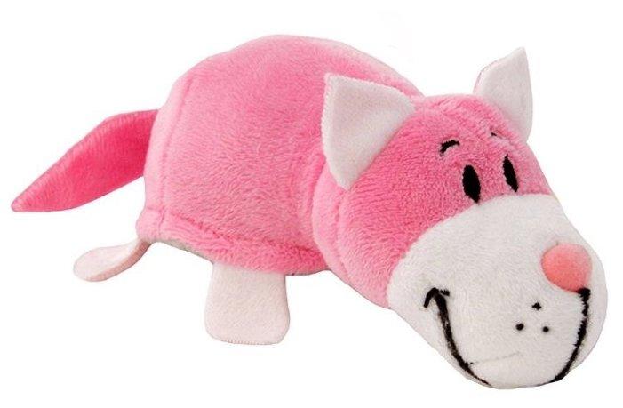 Мягкая игрушка 1 TOY Вывернушка Розовый кот-Мышь серая 8 см