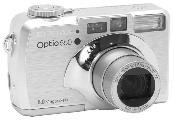 Фотоаппарат Pentax Optio 550