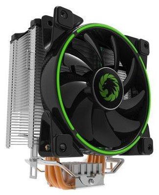 Кулер для процессора GameMax GAMMA 500 Green — купить по выгодной цене на Яндекс.Маркете