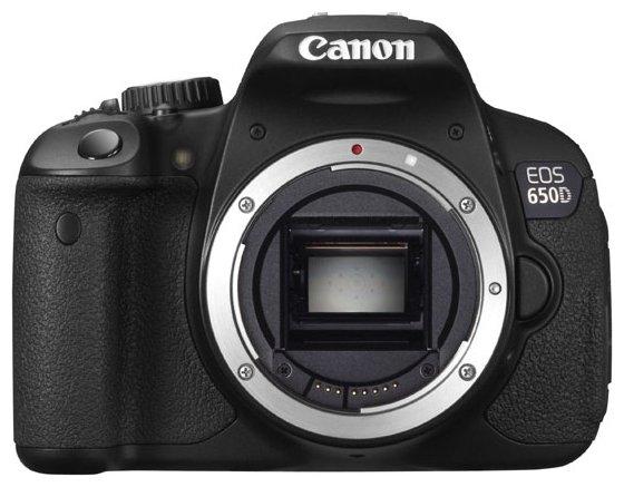 Canon Зеркальный фотоаппарат Canon EOS 650D Body