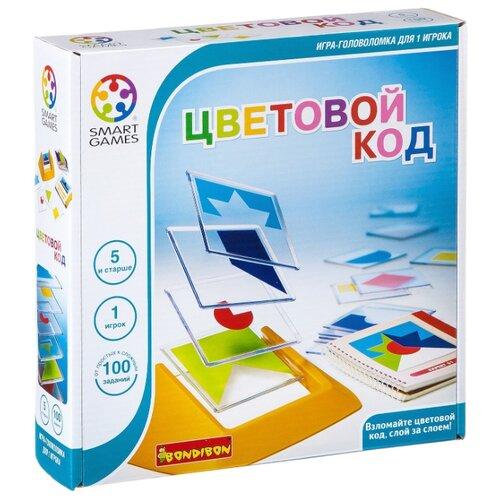 Купить Головоломка BONDIBON Smart Games Цветовой код (ВВ0352), Головоломки