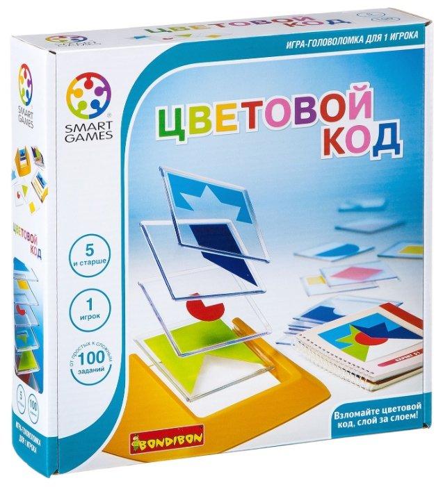 Головоломка BONDIBON Smart Games Цветовой код (ВВ0352)