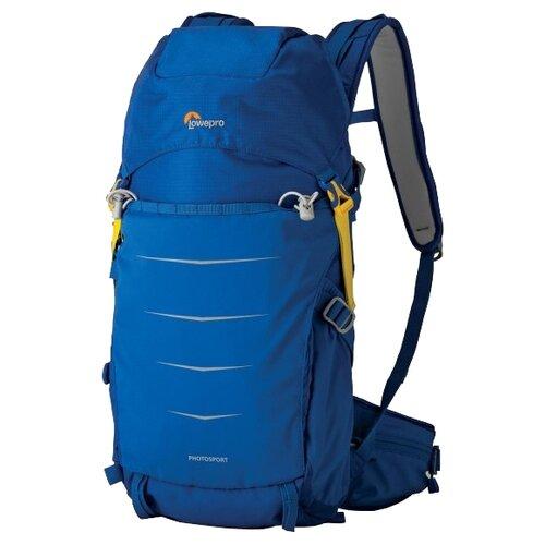Фото - Рюкзак для фотокамеры Lowepro Photo Sport BP 200 AW II синий рюкзак для фотокамеры lowepro flipside 400 aw ii mica pixel camo