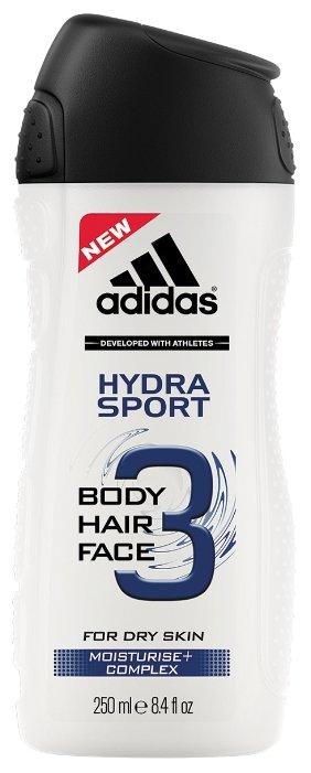 Гель для душа 3 в 1 Adidas Hydra sport