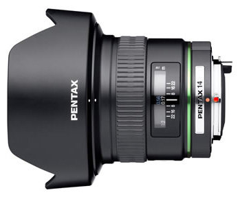Объектив Pentax SMC DA 14mm f/2.8 ED (IF)