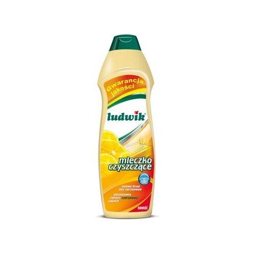 Чистящее молочко лимонное LUDWIK 1000 гДля кухни<br>