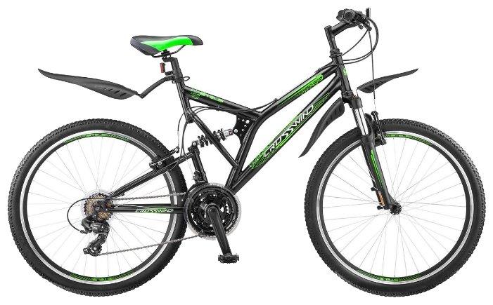 Велосипеды Двухподвесы Stels Crosswind 26 21 Sp Z010 (2018) Черный 20 ростовка