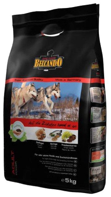 Корм для собак Belcando Adult Power для спортивных, рабочих, вольерных и кормящих собак (5 кг)